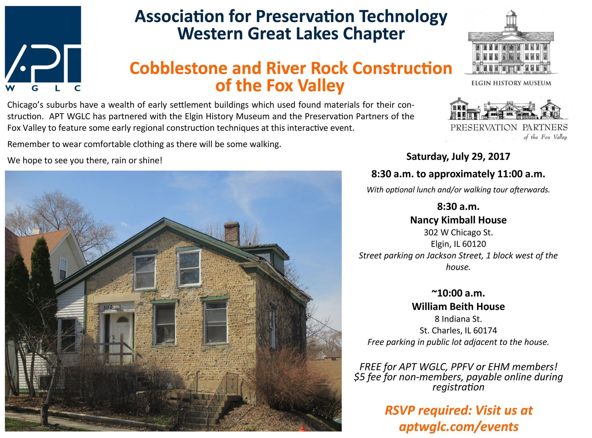 Association for Preservation Technology Western Great Lakes